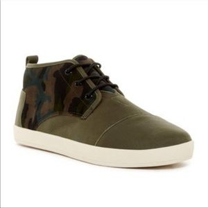 TOMS Paseo Camo Sneakers
